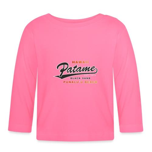 Patame Black Sand Beach - Baby Langarmshirt