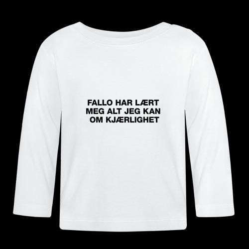 F-H-L-M-A-J-K-O-K-GENSER - Langarmet baby-T-skjorte