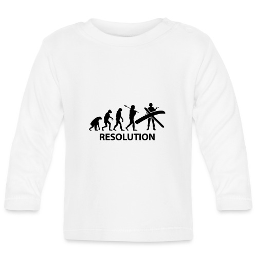Resolution Evolution Army - Baby Long Sleeve T-Shirt