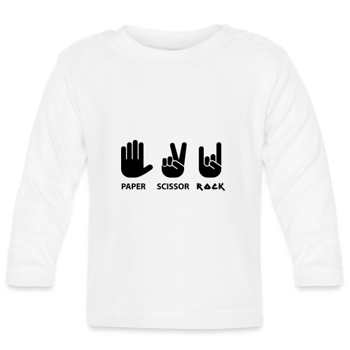 paper scissors rock c - T-shirt