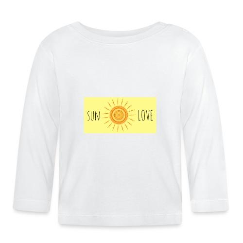 Sun Love - Baby Long Sleeve T-Shirt