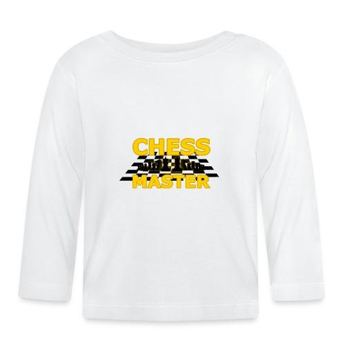 Chess Master - Black Version - By SBDesigns - Baby Long Sleeve T-Shirt