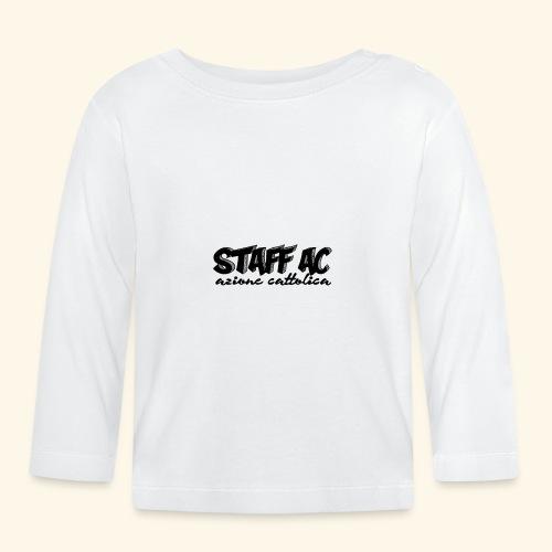 staffACnero - Maglietta a manica lunga per bambini