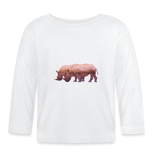 Nashorn Alpen - Baby Langarmshirt