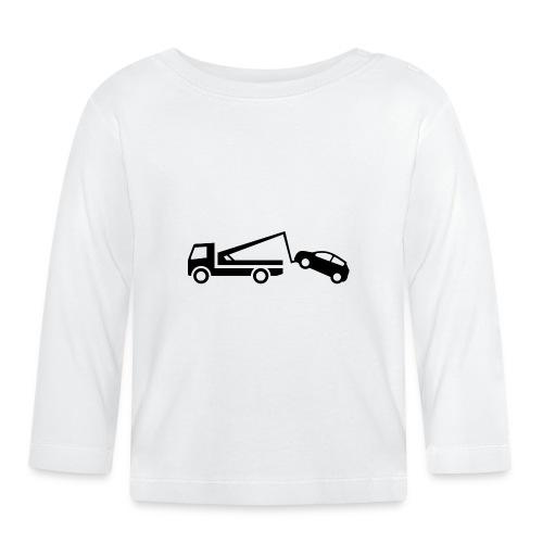 Abschleppwagen - Baby Langarmshirt