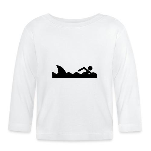 Haifischfutter - Baby Langarmshirt
