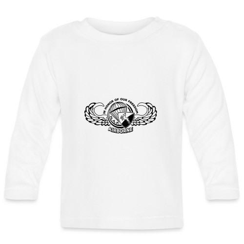 HAF tshirt back2015 - Baby Long Sleeve T-Shirt