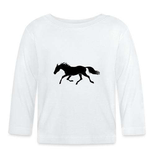 Cavallo - Maglietta a manica lunga per bambini