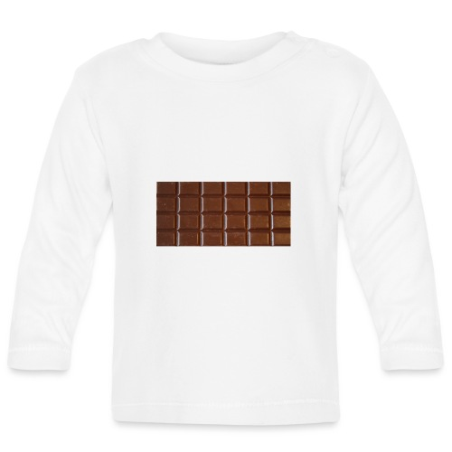 chocolat - T-shirt manches longues Bébé