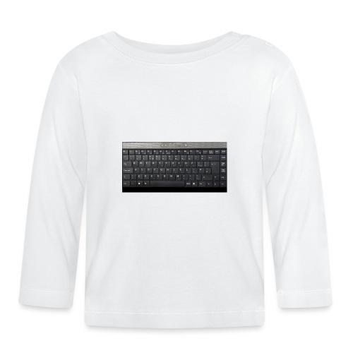 clavier - T-shirt manches longues Bébé