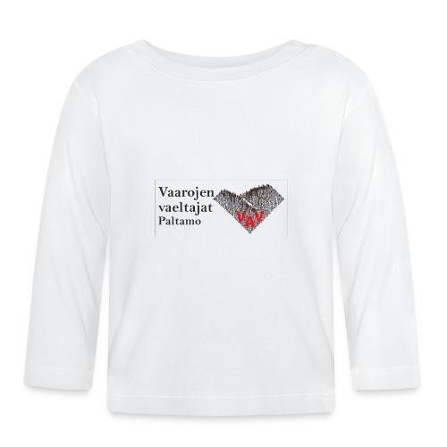 Huivilogo ja teksti - Vauvan pitkähihainen paita