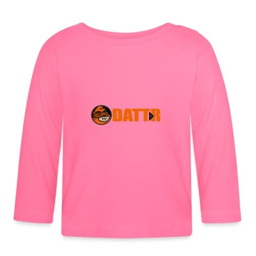 dattr logo - Baby Long Sleeve T-Shirt