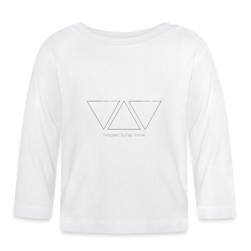 Designed by Filip Plonski - Baby Long Sleeve T-Shirt