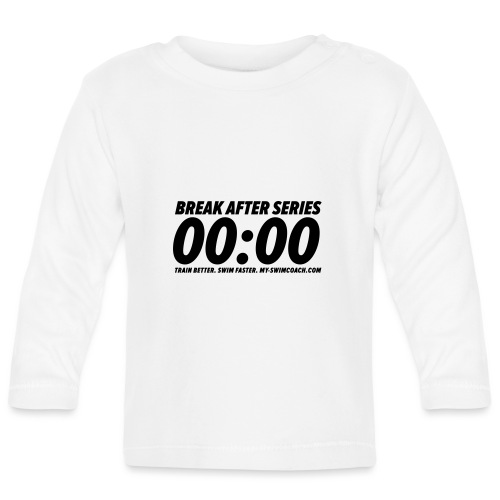 BREAK AFTER SERIES - Baby Langarmshirt