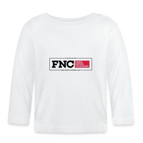 FNC Fake News Channel - Baby Langarmshirt