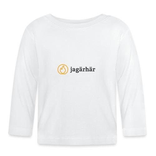#jagärhär - Långärmad T-shirt baby