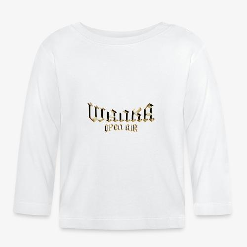Logo Oficial Wanka Open Air - Camiseta manga larga bebé