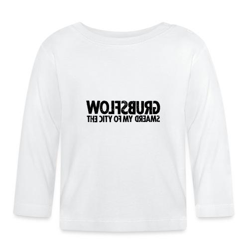 Wolfsburg (black_oldstyle) - Baby Langarmshirt