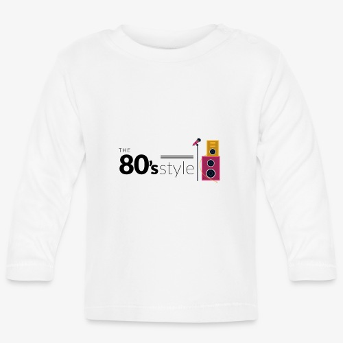 80s - Camiseta manga larga bebé