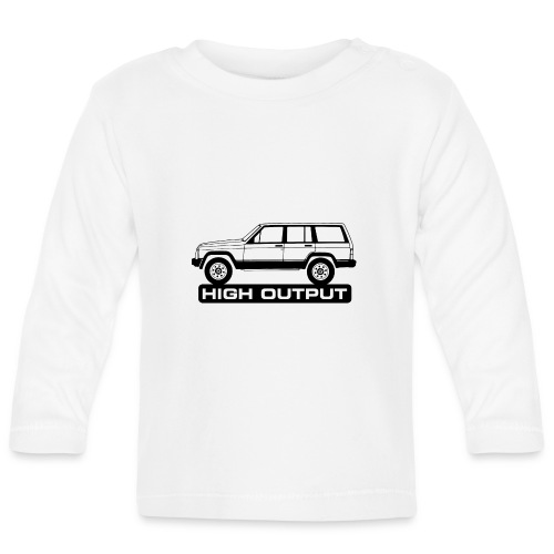 Jeep XJ High Output - Autonaut.com - Baby Long Sleeve T-Shirt