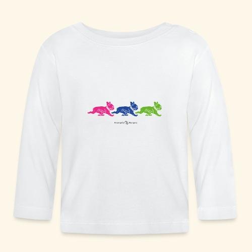frenchies multicolor - T-shirt manches longues Bébé