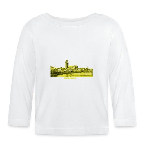 Magdeburg Dom Sachsen-Anhalt Deutschland Elbe - Baby Langarmshirt