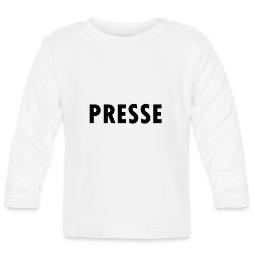 Presse - Baby Langarmshirt