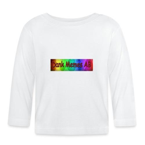Dank Memes AB T-Shirt SNÅLFAN-EDITION - Långärmad T-shirt baby