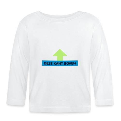 Grappige Rompertjes: Deze kant boven - T-shirt