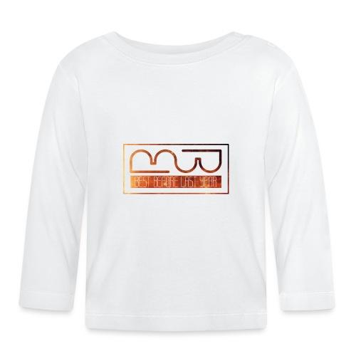 Cap logo Orange - Baby Long Sleeve T-Shirt
