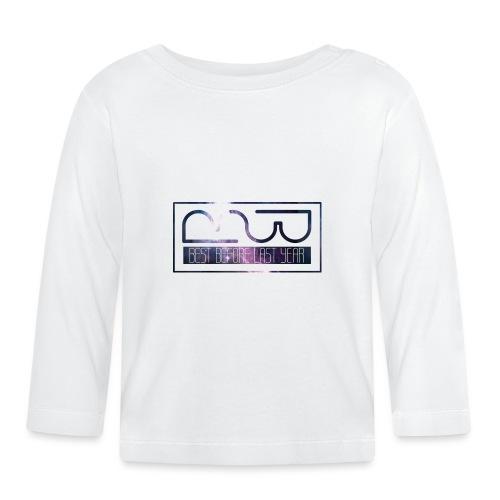 Cap logo Purple - Baby Long Sleeve T-Shirt