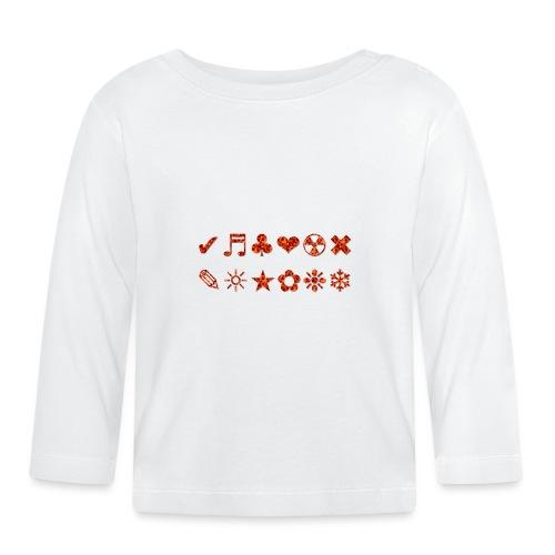 SIMBOLI - Maglietta a manica lunga per bambini