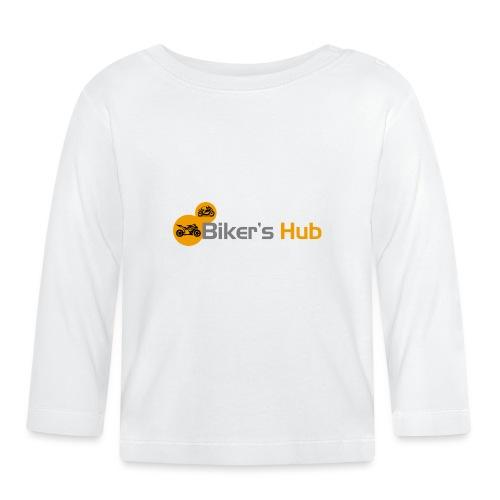 Biker's Hub Small Logo - Baby Long Sleeve T-Shirt