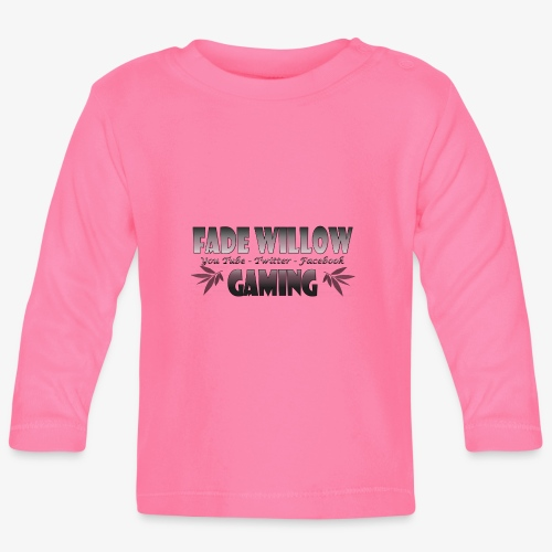 Fade Willow Gaming - Baby Long Sleeve T-Shirt