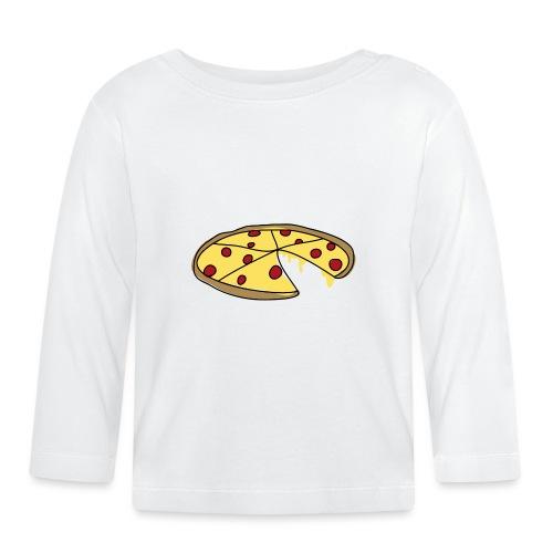 Pizza_V1_gross - Baby Langarmshirt