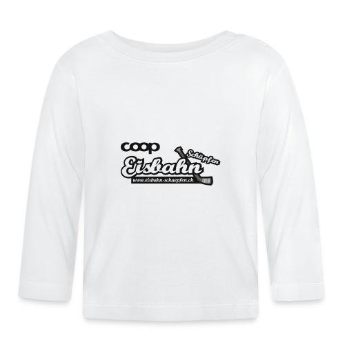 Coop-Eisbahn Schüpfen sw - Baby Langarmshirt