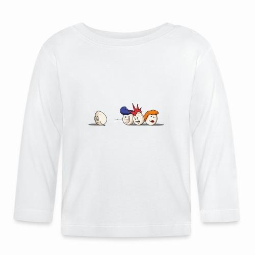 Bald Eggs - T-shirt manches longues Bébé