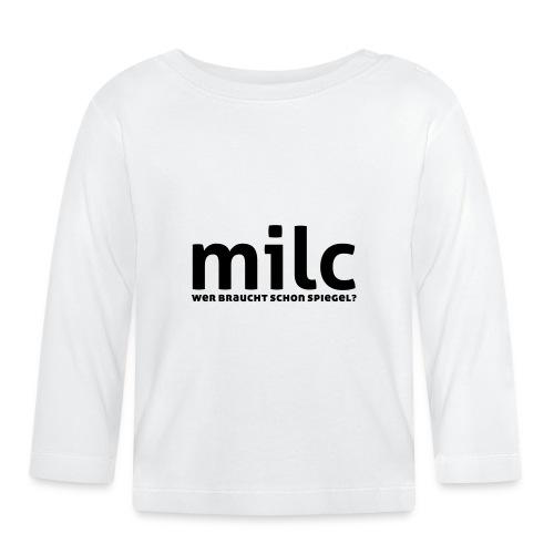 milc - Baby Langarmshirt