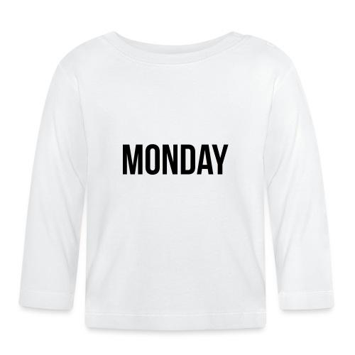 Monday - Baby Long Sleeve T-Shirt