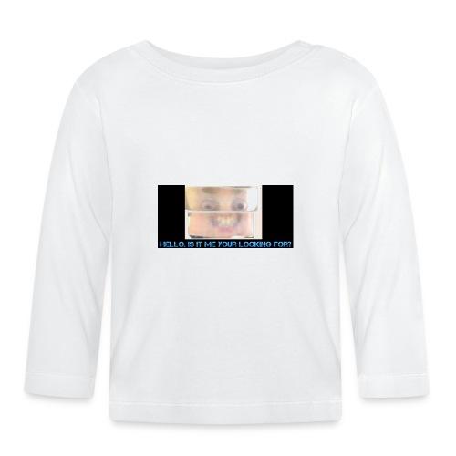 ...... - Langarmet baby-T-skjorte
