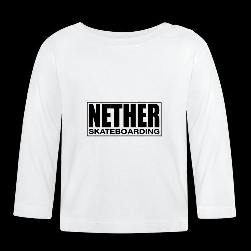 Nether Skateboarding T-shirt White - Maglietta a manica lunga per bambini