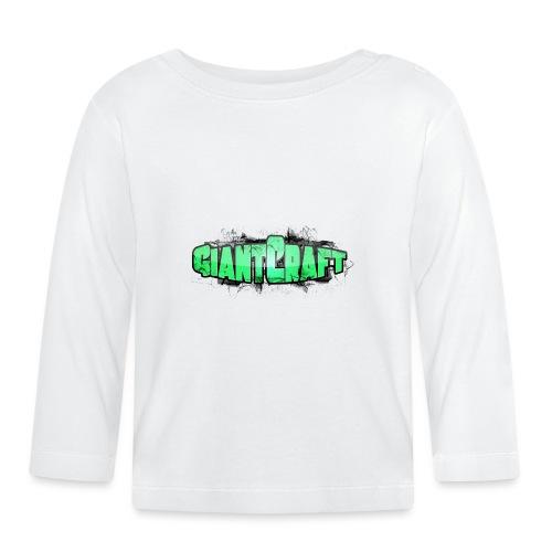 Hættetrøje - GiantCraft - Langærmet babyshirt