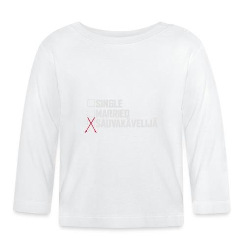 Sauvakävelijä - Vauvan pitkähihainen paita