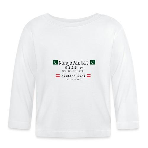 NangaPArbat20-01Black - Maglietta a manica lunga per bambini