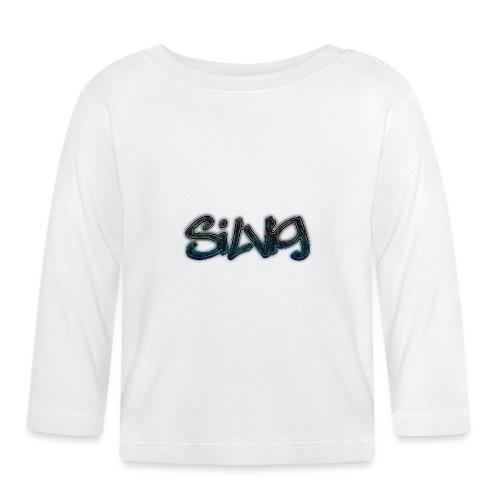 SilViG logo limited - Langærmet babyshirt