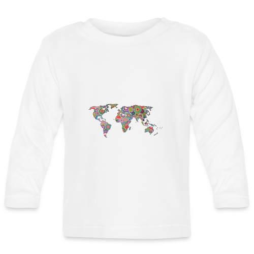 Hipsters' world - Baby Long Sleeve T-Shirt