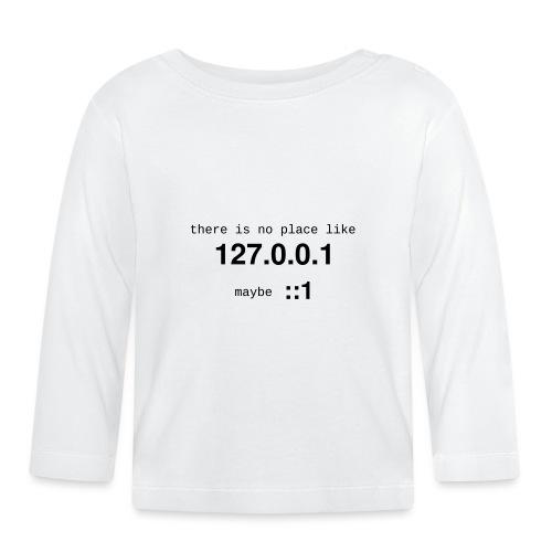 127-0-0-1-::1 - T-shirt manches longues Bébé