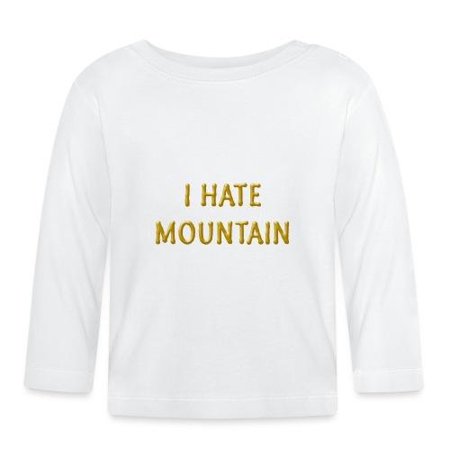 hate mountain - Baby Langarmshirt