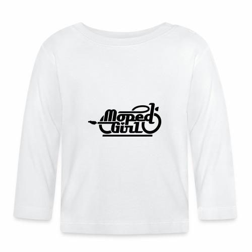Moped Girl / Mopedgirl (V1) - Baby Long Sleeve T-Shirt
