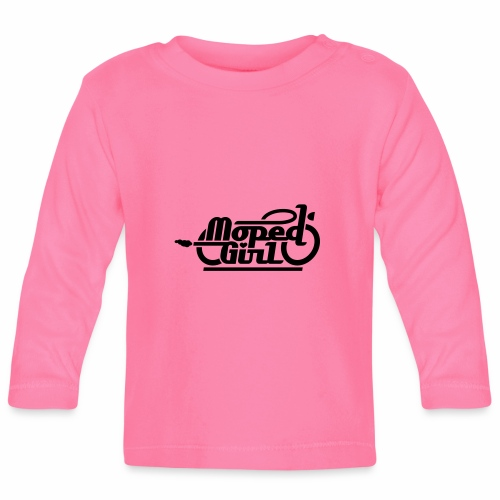Moped Girl / Mopedgirl (V1) - Baby Long Sleeve T-Shirt